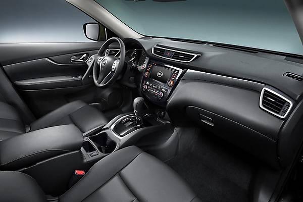 Новый Nissan X-Trail 2014 Салон